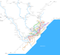 Barcelona Metro Map - Mapsof.Net Map
