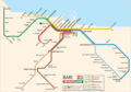 Bari Metro Map - Mapsof.net
