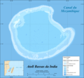 Bassas Da India Atoll Map Fr - Mapsof.net