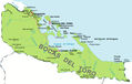 Bocas Del Toro Panama Political Map - Mapsof.Net Map