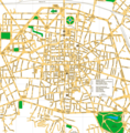 Bologna City Center Map - Mapsof.Net Map