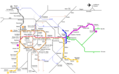 Brussels Metro Map - Mapsof.Net Map