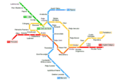 Bucharest Metro Map - Mapsof.Net Map