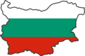 Bulgaria Flag Map - Mapsof.Net Map
