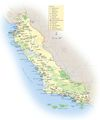 California Central Coast Map - Mapsof.net