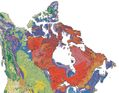 Canada Geological Map - Mapsof.Net Map