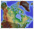 Canada Topo Map - Mapsof.Net Map