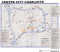 Charlotte Downtown Map (city Center) - Mapsof.Net Map