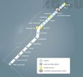 Charlotte Light Rail Map (metro) - Mapsof.Net Map