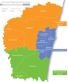 Chennai Districts Map - Mapsof.Net Map