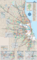 Chicago Transport Map - Mapsof.Net Map