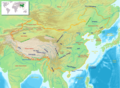 China Geography Map - Mapsof.Net Map