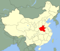 China Henan Location Map - Mapsof.Net Map