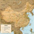 China Physical Map - Mapsof.net