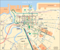 Cleveland Downtown Transport Map - Mapsof.Net Map