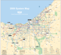 Cleveland Transport Map - Mapsof.Net Map
