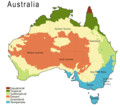 Climate Map of Australia - Mapsof.Net Map