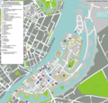 Copenhagen Christianshavn Map - Mapsof.Net Map