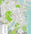 Copenhagen Oesterbro Map - Mapsof.Net Map
