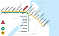 Copenhagen Metro Map (subway) - Mapsof.Net Map