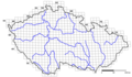 Czech Republic Species Distribution Map Grid Blank - Mapsof.net