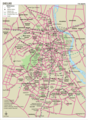 Delhi City Map - Mapsof.Net Map