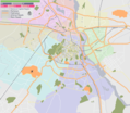 Delhi Area Locator Map 1 - Mapsof.Net Map