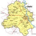 Delhi Map 1 - Mapsof.Net Map