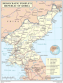 Democratic Peoples Republic of Korea - Mapsof.Net Map