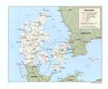 Denmark Political Map - Mapsof.Net Map