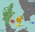 Denmark Regions Map - Mapsof.Net Map
