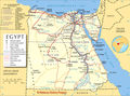 Egypt Map(1) - Mapsof.Net Map