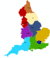 England Map 3 - Mapsof.Net Map