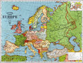 Europe Old Map (1923) - Mapsof.Net Map
