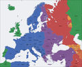Europe Time Zone Map - Mapsof.Net Map