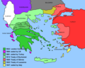 Expansion of Modern Greece - Mapsof.Net Map
