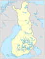 Finland Locator Map - Mapsof.Net Map