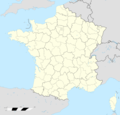 France Location Map Regions And Departements - Mapsof.net