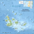 Galapagos Islands Topographic Map Fr - Mapsof.net