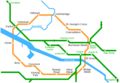 Glasgow Metro Map - Mapsof.Net Map