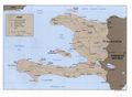 Haiti Political Map 1999 - Mapsof.net