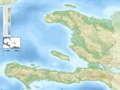 Haiti Blank Map With Topography - Mapsof.net