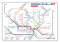 Hamburg Metro System Map - Mapsof.Net Map