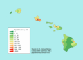 Hawaii Population Map - Mapsof.net