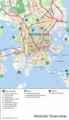 Helsinki Overview Map - Mapsof.Net Map