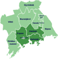 Helsinki Regions - Mapsof.Net Map