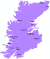 Highland Scotland Map - Mapsof.net