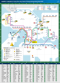 Hong Kong Tourism Metro Map - Mapsof.Net Map