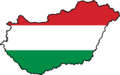 Hungary Flag Map - Mapsof.net