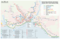 Istanbul Rail Transit Network Map - Mapsof.Net Map